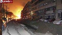 Взрывы газа на Тайване убили более 20 человек