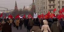 Репортаж о шествии оппозиции 4 февраля