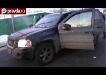 Раненый водитель обезвредил грабителя