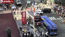 Крупная авария в Нью-Йорке: 14 туристов пострадали