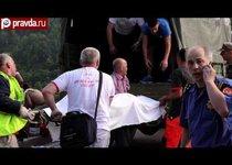 Черногория: автобус с туристами рухнул в пропасть