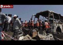 40 человек сгорели при ДТП в Индии