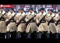 В Москве повторили парад 7 ноября 1941-го года