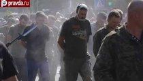Донецк провел парад пленных