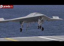 В США впервые посадили беспилотник на авианосец