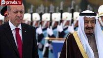 Эрдоган встретил саудовского короля русским маршем