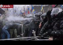 """Газовая атака на """"Евромайдане"""""""