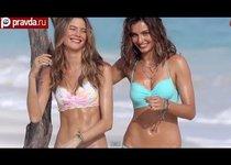 """Пляжный рай ангелов Victoria""""s Secret"""