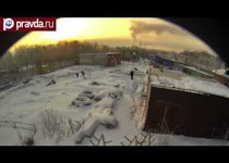 Над Челябинском взорвался метеорит