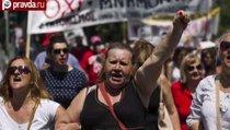 Греция: огонь против Евросоюза