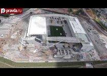 В Бразилии обрушился стадион