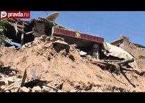 Страшное землетрясение в Китае: почти 100 погибших