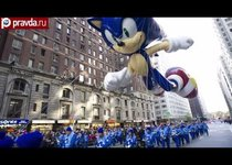 Фестиваль гигантских шаров в Нью-Йорке