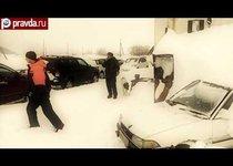 Аномальный снегопад на Камчатке