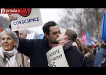 Франция против однополых браков