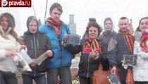 Место гибели Немцова осквернили вандалы
