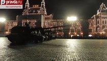 Ночная репетиция Парада Победы-2014 в Москве