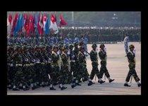 Армия Мьянмы празднует день рождения