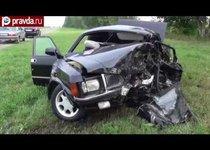 Автомобиль погибшего сенатора выехал на встречку