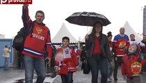 Как охраняют чемпионат мира по хоккею в Москве