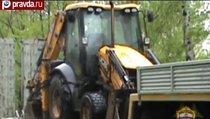 В Москве попытались угнать трактор