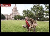 Человек-леопард шокирует США