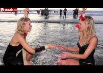 Рождественское купание в Южном Уэльсе
