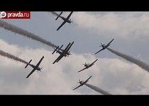 Крупное авиашоу в Польше