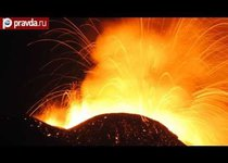 Огненный танец вулкана Этна