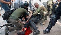 Кто пролил кровь на Конституцию Украины?