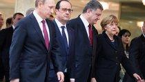Порошенко напросился на встречу с Меркель и Олландом