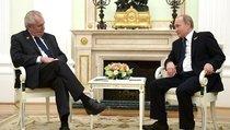 Земан и Путин будут вместе бороться с терроризмом