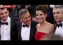 Клуни и Баллок покоряют Венецию