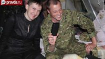 Савченко вернулась на Донбасс