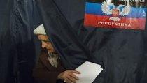 Выборы в Донецке: первые данные