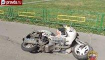 В Москве женщину сбили скутером насмерть