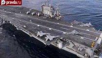 """Авианосец Harry Truman """"передает привет"""" от США России"""