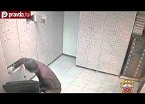 Вор обчистил банк под носом у банкиров