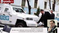 """""""Никто точно не знает права и обязанности ОБСЕ на Украине"""""""