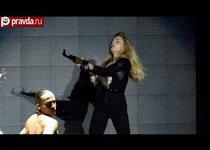 Мадонна защищает Сирию