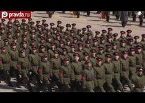 Парад Победы-2013 репетировали в Подмосковье