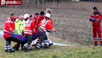 Лобовое столкновение поездов в Германии: 9 погибших