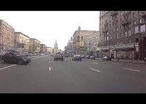 Пьяная за рулем протаранила 6 машин: видео с регистратора