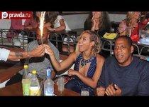 Жаркий отдых Jay-z и Бейонсе