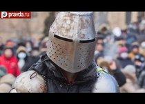 Битва за Киев: катапульта, рыцари и коктейли Молотова