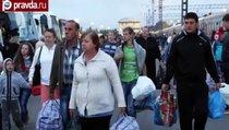Украинских беженцев переселяют в Сибирь