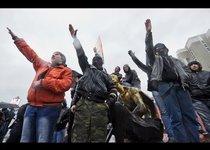 Русский марш под крылом у оппозиции