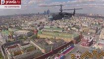 Репетиция парада Победы-2015: пролёт авиации над Москвой