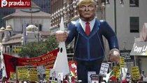 В США проходят акции протеста против Трампа