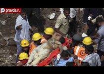 В Индии рухнул дом: 60 погибших